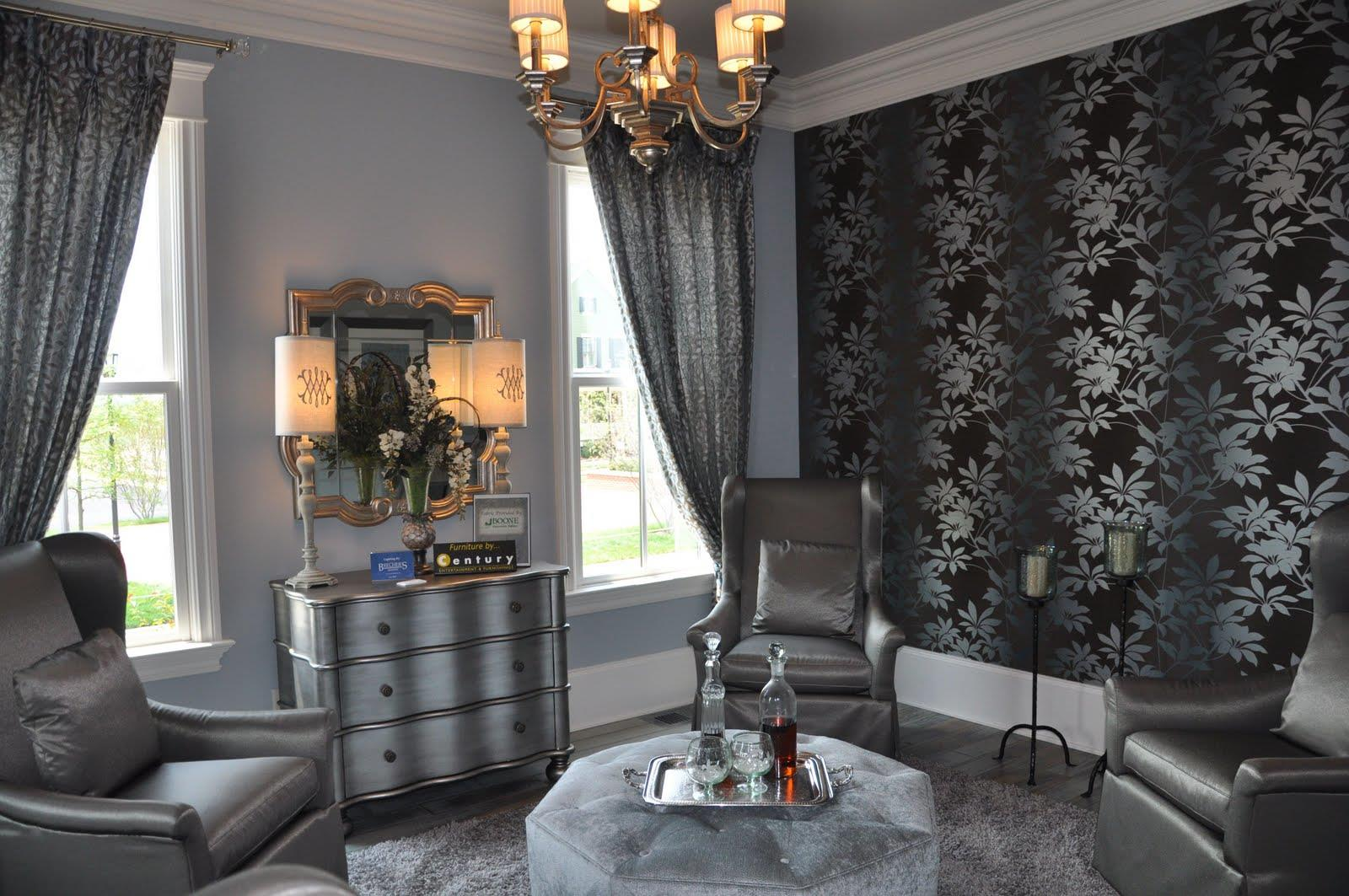 Silver And Grey Living Room Modern House Part 58